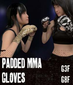 Padded MMA Gloves G3FG8F
