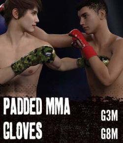Padded MMA Gloves G3MG8M