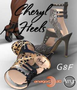 Cheryl Heels and Pantyhose G8F