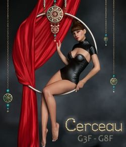 Cerceau Poses & Props for G3F and G8F