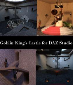 Goblin King's Castle for DAZ Studio