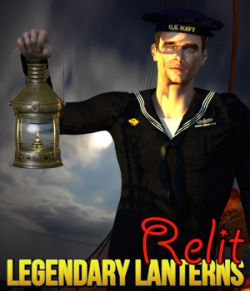 Legendary Lantern- Relit