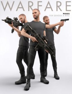 Warfare Poses for Genesis 8 Male