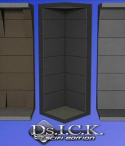 DS.I.C.K. SciFi Base for DAZ Studio