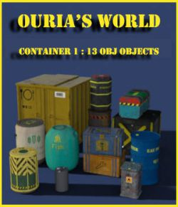 Ourias's world : containers 1