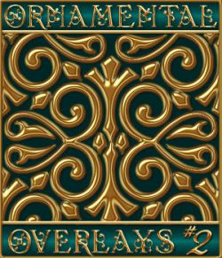 Ornamental Seamless Overlays Set #2