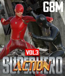 SuperHero Action for G8M Volume 3