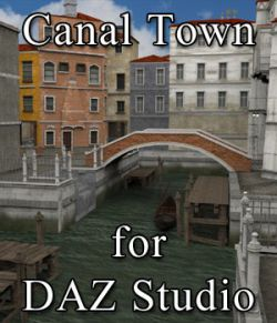Canal Town for DAZ Studio