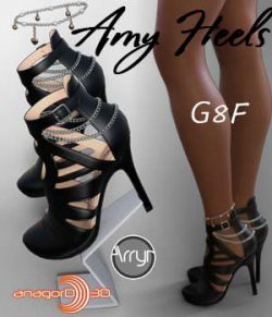 Amy Heels and Pantyhose G8F