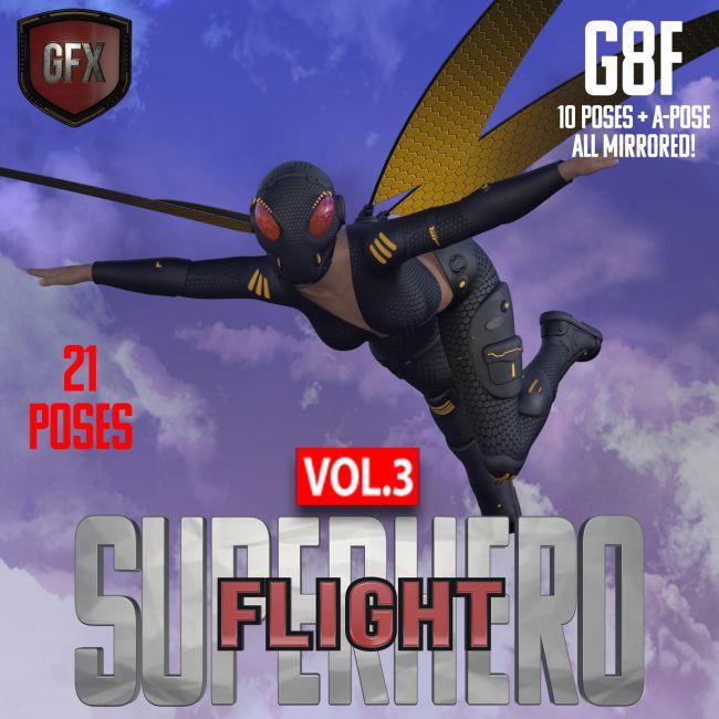 SuperHero Flight for G8F Volume 3