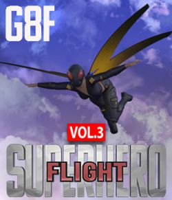 SuperHero Flight for G8F Volume 3