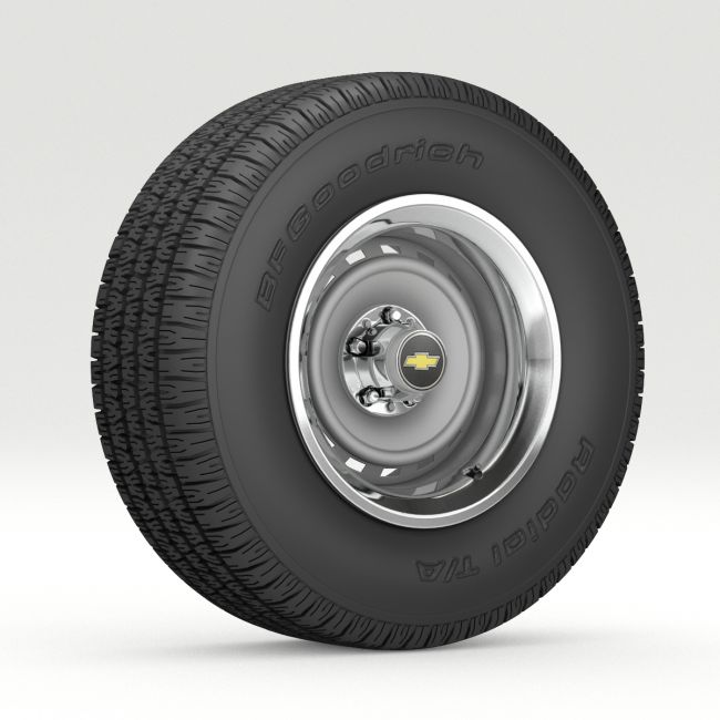 Wheel and tire 8 - Extended Licence