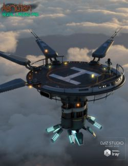 Aeridian Aerial Landing Pad & Platforms