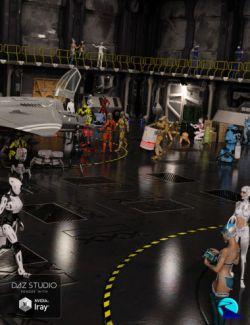 Now-Crowd Billboards- Droids