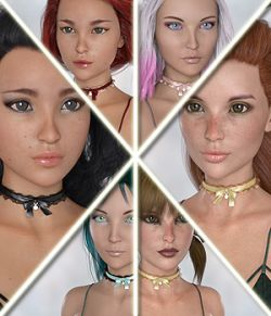 Kawaii Girls - Head and Body Morphs for Aiko 8