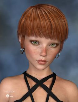 Carella Hair for Genesis 3 and 8 Female(s)