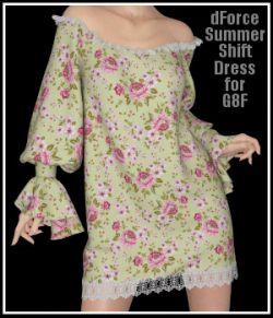 dForce - Summer Shift Dress for G8F