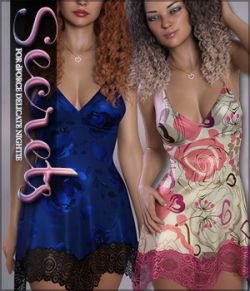 Secrets for dForce Delicate Nightie G8F