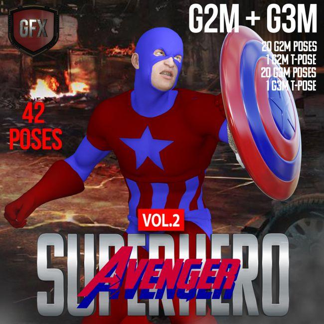 SuperHero Avenger for G2M and G3M Volume 2
