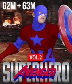 SuperHero Avenger for G2M and G3M Volume 2