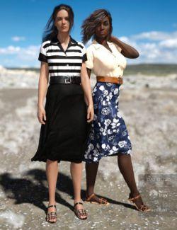 dForce Audacious Outfit Textures