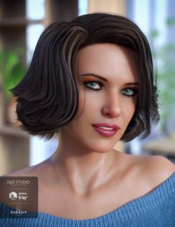 Starlette Hair for Genesis 3 and 8 Female(s)