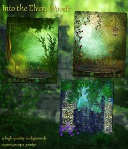 Into the Elven Woods Background Images