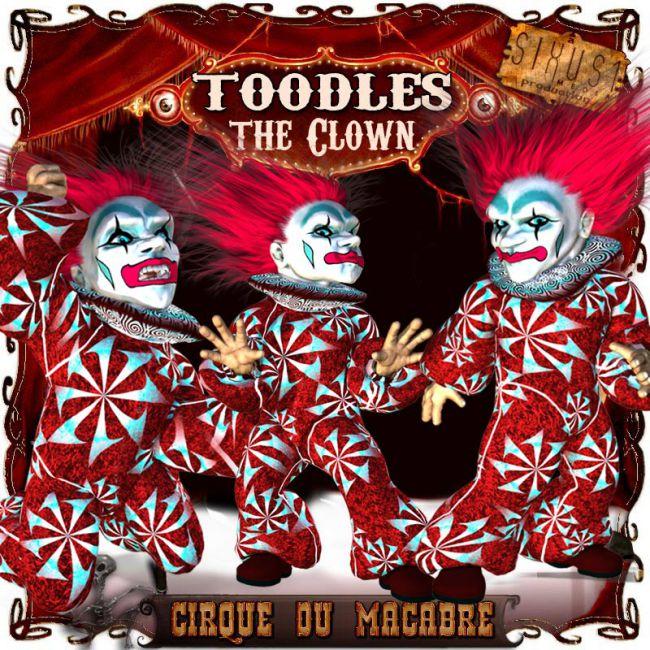 Cirque du Macabre: Toodles the Clown Uni-Dwarf Add-on