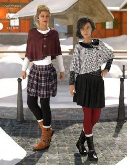 dForce Wonderland Outfit Textures