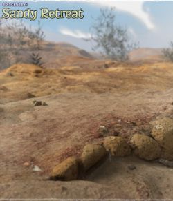 3D Scenery: Sandy Retreat