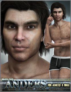EJ Anders Deluxe Pack for Genesis 8 Male