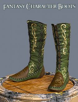 S3D FC Boots for Genesis 3 and 8 Female(s)