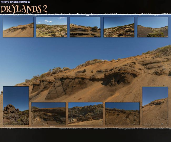 Photo Backgrounds: Drylands 2