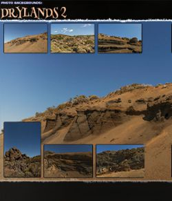 Photo Backgrounds: Drylands 2