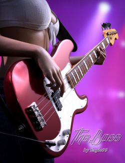 The Bass Guitar and Poses for Genesis 3 and 8
