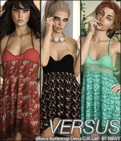 VERSUS- dforce Buttercup Dress G3F G8F