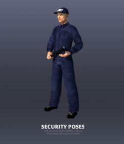Security Poses for Genesis and Genesis 2 Male