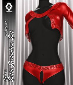 JMR dForce Satin Seductive Set for G3F and G8F