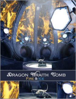 Dragon Wraith Tomb - Fire & Ice