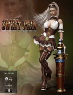 Sweet Pain- Fantasy Outfit Set for Genesis 8 Female(s)