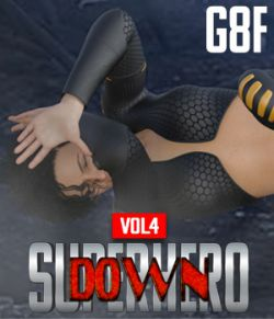 SuperHero Down for G8F Volume 4