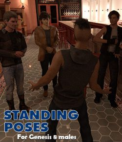 Standing poses for Genesis 8 male