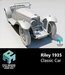 Riley 1935 Classic Car -Extended Licence