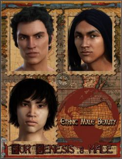 EJ Ethnic Male Beauty for Genesis 8 Male