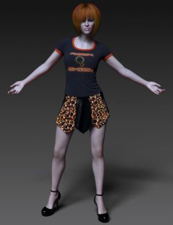 dForce Tempestuous Outfit for Genesis 8 Female(s)