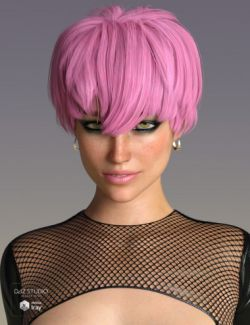 Melo Hair for Genesis 3 and 8 Female(s)