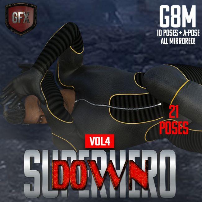 SuperHero Down for G8M Volume 4
