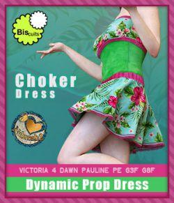 Biscuits & Nebreah2 ChokerDress