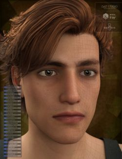 Genesis 8 Male Head Morph Resource Kit 2