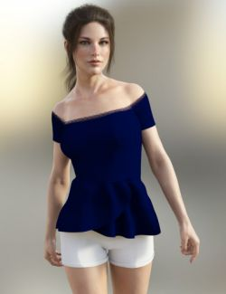 X-Fashion Finesse Outfit for Genesis 8 Female(s)